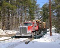 trucking firewood