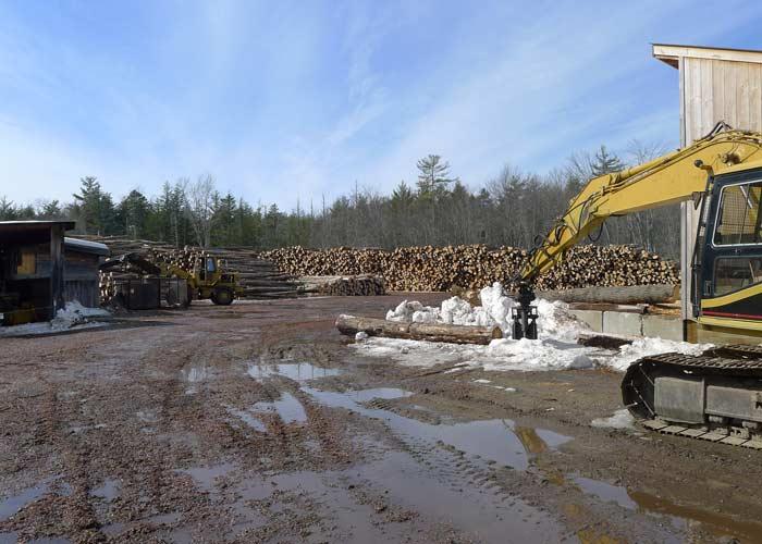 Big firewood operation