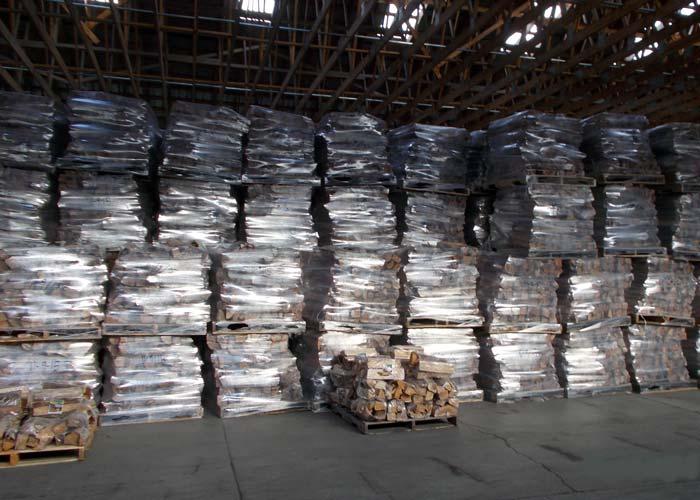 Large firewood operation