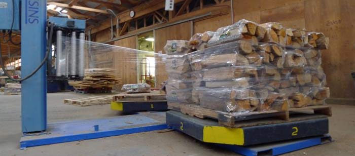 packaging firewood for wholesale